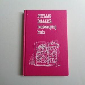 Phyllis Diller's Housekeeping Hints Vintage Book